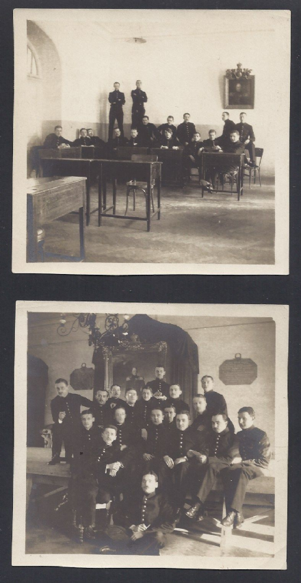 Imperial Alexander Lyceum Students Posing for Camera Petersburg Imperial Russia